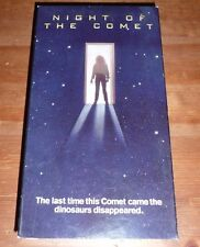 Night Of The Comet VHS Rare Horror 80's Zombie 1984 VHS + FREE DVD