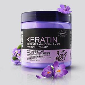 Keratin Hair Mask-Cream Repair & Restore Straightening Treatment Formula 500ml