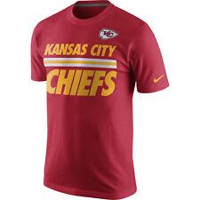 2eaef4627 Kansas City Chiefs Nike NFL Team Stripe T-Shirt - Red / Gold Size XL
