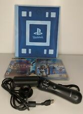 Playstation 3 (PS3) Motion Controller, Camera, Wonderbook & 2 Games *Read!