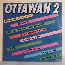 """33T OTTAWAN N° 2 Disque LP 12"""" HAUT LES MAINS - MUSIQUE MAGIQUE - CARRERE 67.678"""
