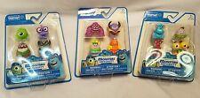 Monsters University  Walmart Exclusive Full Mini Figure Set Spin Master Lot of 3
