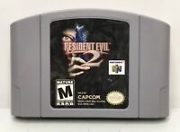 Nintendo 64 N64 Resident Evil 2 Video Game Cartridge *Authentic/Cleaned/Tested*