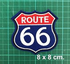 Route 66 road US Embroidered Craft Vintage American Heritage DIY Patches