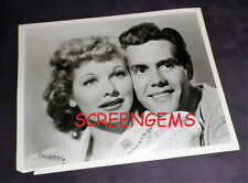"""I Love Lucy"" vintage original photo 1955 Lucille Ball Desi Arnaz young TV RARE"