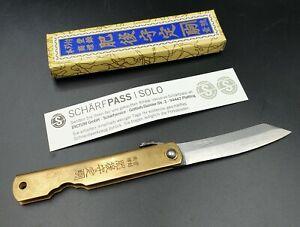 Higonokami Burasu, tradionelles Japanisches Taschenmesser Klappmesser