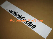 "53"" Buddy Club Windshield sun strip visor decal sticker integra fairlady civic r"