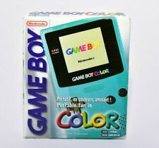 Nintendo Game Boy Color Teal Complete in Box