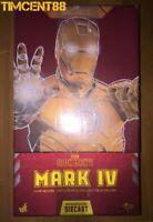 Hot Toys MMS461D21 Iron Man 2 Mark 4 IV Diecast 1/6 Tony Stark Downley New