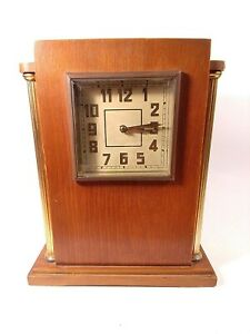 "Vintage Mantel Board Clock Soviet Striking Clock ""Vladimir"" Working Clock. . lot"
