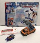 Transformers Armada Hasbro 2002 Smokescreen & Liftor Used FREE SHIPPING Complete