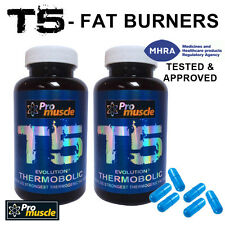 T5 EVOLUTION FAT BURNERS  STRONG DIET PILLS EXTREME WEIGHT LOSS SLIMMING X 2