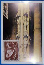 Cathedrale de Strasbourg  ANGES   FRANCE CPA Carte Postale Maximum Yt 165C GF