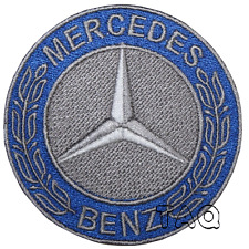 Mercedes Benz  Iron/sew on patch   F1 Motorsport Logo Embroidered Badge  # M 11