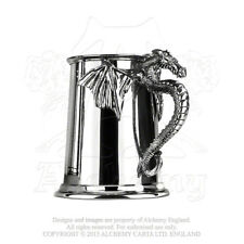 Alchemy - Silver Dragon - Pewter Tankard