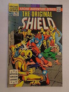 The Original Shield Greim Ayers #1 Archie Comics Adventure Series April 1984 NM
