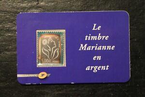 Timbre en argent -  FRANCE - Marianne de Lamouche - neuf** - n°3926 - année 2006