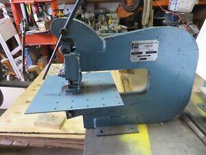 Roper Whitney 218  Punch Press  w/ Work Table Whitney Jensen Punch Press