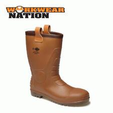 Calzado de hombre botas de agua marrón Dickies