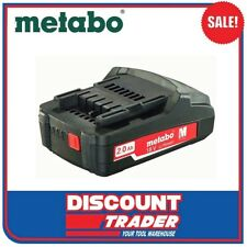 Metabo 18V Lithium-Ion Compact Ultra Li-Extreme-Power 2.0Ah Battery Pack 6.25596