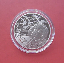 France 2017 AIRBUS A380 10 Euro Silver Proof Coin with Box and COA
