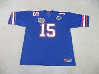 Nike Florida Gators Football Jersey Adult 2XL XXL Blue Tebow UF College Mens B3*