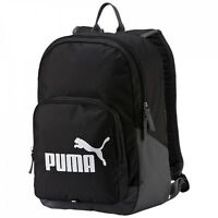 PUMA Phase Backpack Rucksack Freizeitrucksack Damen Herren Black Schwarz Neu