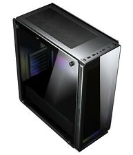 Sahara P35  Black tempered glasses ATX case  WITHOUT FANS