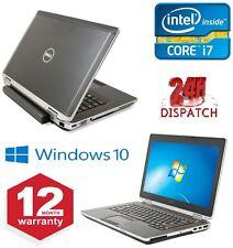 Dell E6420, 14 Pulgadas-Win 10 in Computadora Portátil 2.7GHz Core i7, 2GB Ram, 250HDD-GOOD condi