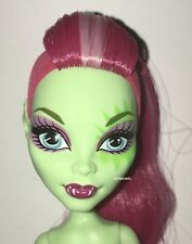 Monster High Fierce Rockers Venus McFlytrap Nude Plant Monster Doll NEW for OOAK