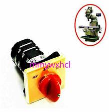Bridgeport Milling Machine Parts Forward Reverse 3 Phase Motor Mill Switch