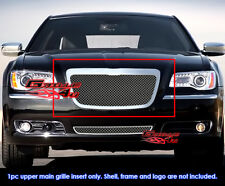 Fits Chrysler 300/300C Stainless Steel Mesh Grille Grill Insert-Fits 2011-2014