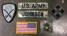 US ARMY Forward ACU Uniform Flag  AT DIGITAL UCP Flagge foliage green