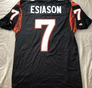 Boomer Esiason Cincinnati Bengals authentic Champion black retro stitched jersey