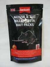 New Rentokil Mouse And Rat Killer Pasta Bait Packs 10 x 10g Sachets FMR52