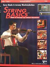 String Basics : Steps to Success For String Orchestra Viola book1 115Va 2nd Ed.