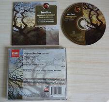 CD SYMPHONIE FANTASTIQUE - BERLIOZ HECTOR HAROLD EN ITALIE LEONARD BERNSTEIN