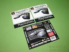 Playstation PS1 Instruction Manual & Artworks - Dodgem Arena *No Game*