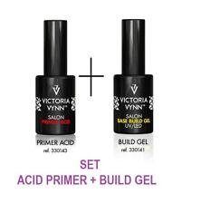 Victoria vynn Conjunto de Gel ácido Cartilla + base construir