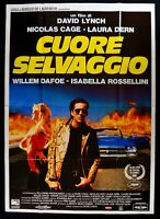Poster Herz Wild At Heart David Lynch, Cage Dafoe Rosselini M298