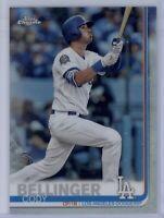 2019 Topps Chrome Cody Bellinger Refractor #158 LA Dodgers