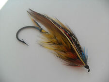 Childers Size 10/0 Fully Dressed Vintage Salmon Fly Date 1930's-40's