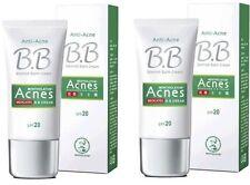 Mentholatum Acnes Medicated Anti-Acne BB Cream SPF20 30g ( 2 pieces )
