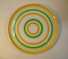 Art Deco Keramik Kuchenplatte Spritzdekor Villeroy & Boch Dresden Saxony um 1930