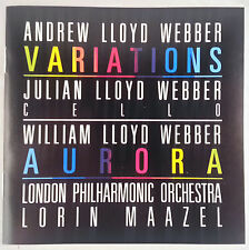 Andrew Lloyd Webber-Variations/Maazel/Philips Full Silver No IFPI W Germany PDO