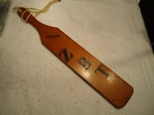fraternity Pledge Paddle  GAMMA ZBT  zeta beta tau  1949  NEW YORK UNIVERSITY