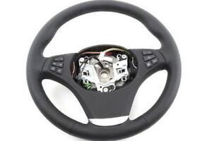 Genuine BMW X3 E83 Sport Steering Wheel Leather Multifunction 32303448458