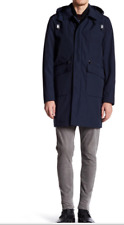 NWT Michael Kors Conway Long Sleeve Interior Vest Outerwear Hooded Coat XL $450