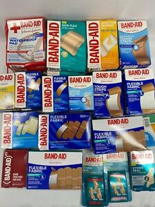 Band-Aid Adhesive Bandages YOU CHOOSE Buy More & Save + Combined Shipping