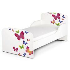 BUTTERFLIES MDF TODDLER BED NEW